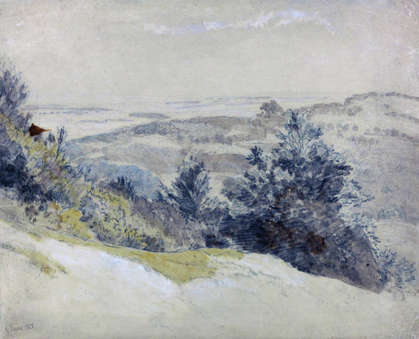 Wall Art - Painting - Boxhill - Digital Remastered Edition by Samuel Palmer