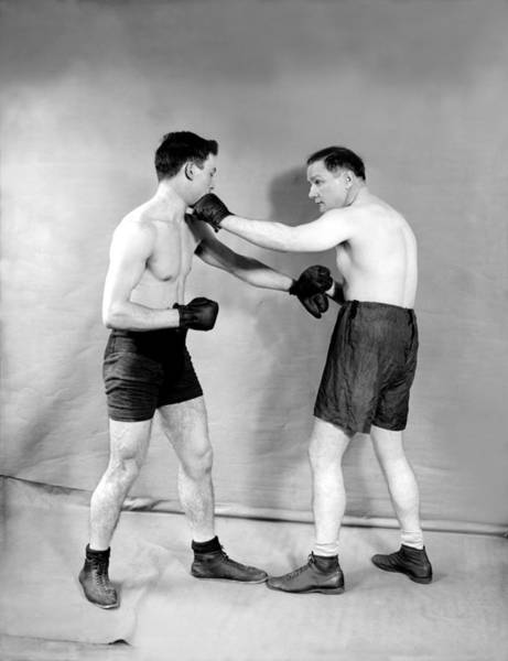 Boxing Photograph - Boxing Demonstration by Topical Press Agency