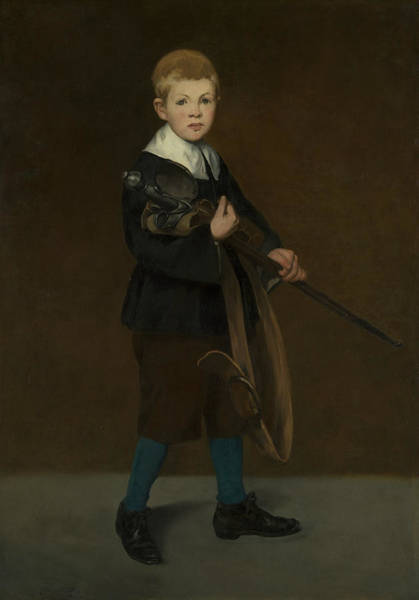 Painting - Boy With A Sword, 1861 by Edouard Manet