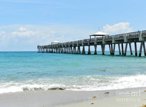 Wall Art - Photograph - Boynton Beach Pier by Snapshot Studio