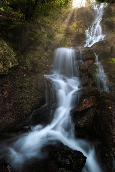 Photograph - Brace Mountain Falls 2 by Bill Wakeley