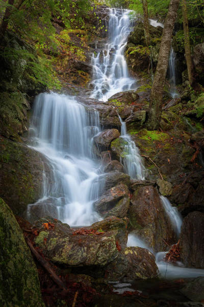 Photograph - Brace Mountain Falls Ny by Bill Wakeley