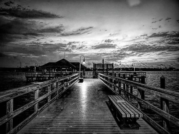 Digital Art - Bradenton Beach City Pier by Robert Stanhope