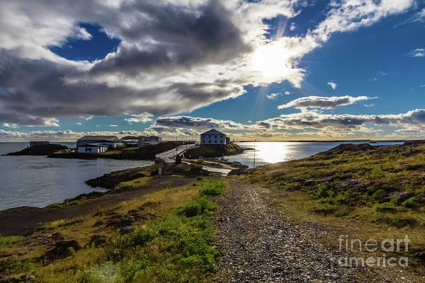 Photograph - Brakarey Island, Borgarnes, Iceland by Lyl Dil Creations