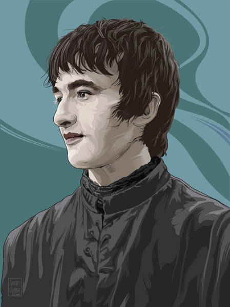 Wall Art - Digital Art - Bran Stark by Garth Glazier