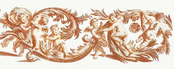 Wall Art - Painting - Branches With Putti By Johan Teyler  1648-1709  by Johan Teyler
