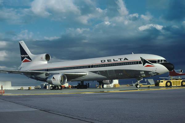 Brand New Delta Airlines L-1011 Tristar Art Print