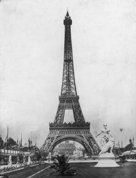 Fair Ground Photograph - Brand New Tower by London Stereoscopic Company