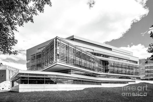 Photograph - Brandeis University Carl J. Shapiro Science Center by University Icons