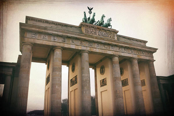 Deutschland Photograph - Brandenburg Gate Berlin Germany  by Carol Japp