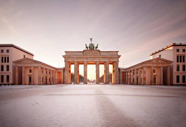 Cold War Photograph - Brandenburg Gate, Berlin by Michaelutech
