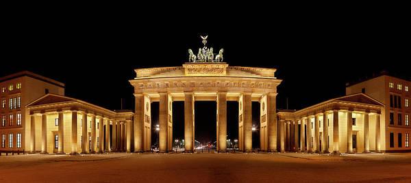 Cold War Photograph - Brandenburg Gate Panorama by Michaelutech