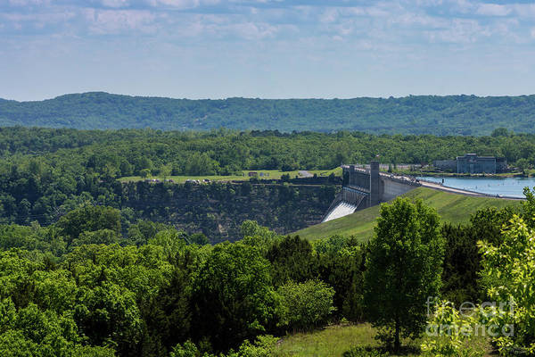 Wall Art - Photograph - Branson's Table Rock Dam by Jennifer White