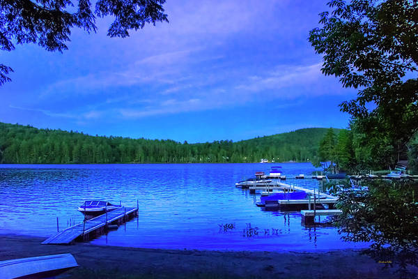Wall Art - Photograph - Brant Lake Ny Blue Hour  by Christina Rollo