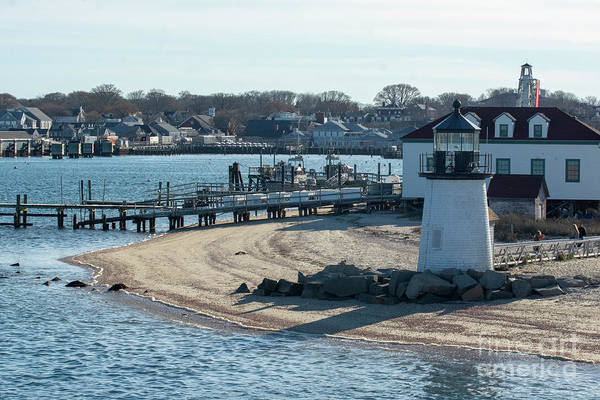 Photograph - Brant Light House Coast Guard Station by Ruth H Curtis
