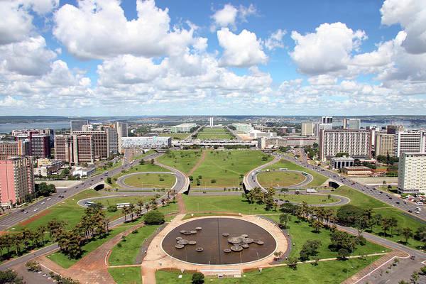 Public Land Photograph - Brasilia Aerial View - Tilt-shift by Ruy Barbosa Pinto