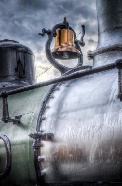 Railroad Wall Art - Photograph - Brass Bell by G Wigler