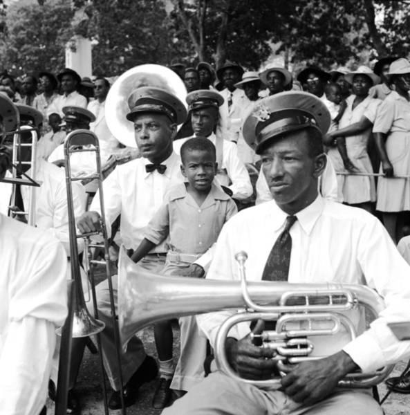British Virgin Islands Photograph - Brass Players by Three Lions