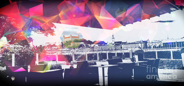 Wall Art - Digital Art - Bratislava by Ron Labryzz