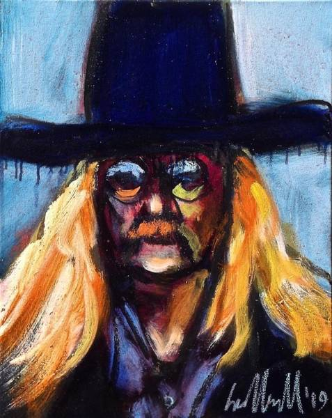 Painting - Brautigan by Les Leffingwell