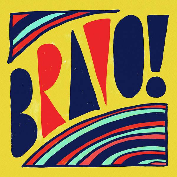 Painting - Bravo by Jen Montgomery