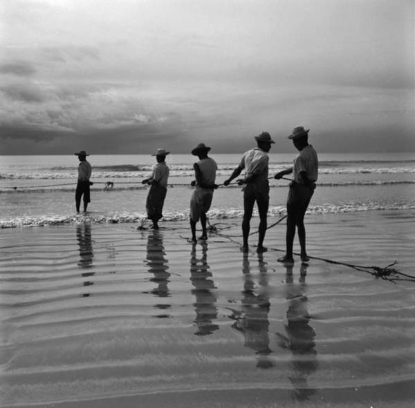 Occupation Photograph - Brazilian Fishermen by Evans