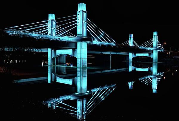Photograph - Brazos River Suspension Bridge by JC Findley