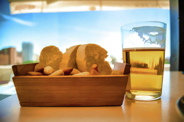 Photograph - Bread And Beer by Borja Robles