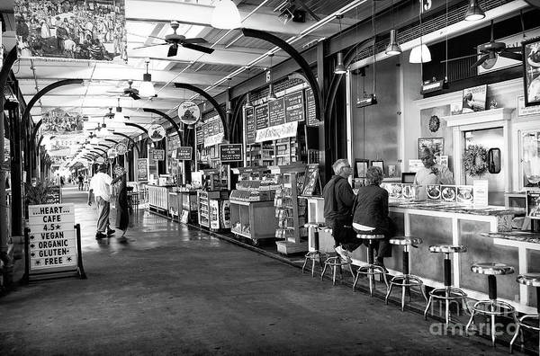 Photograph - Breakfast At The French Market In New Orleans by John Rizzuto