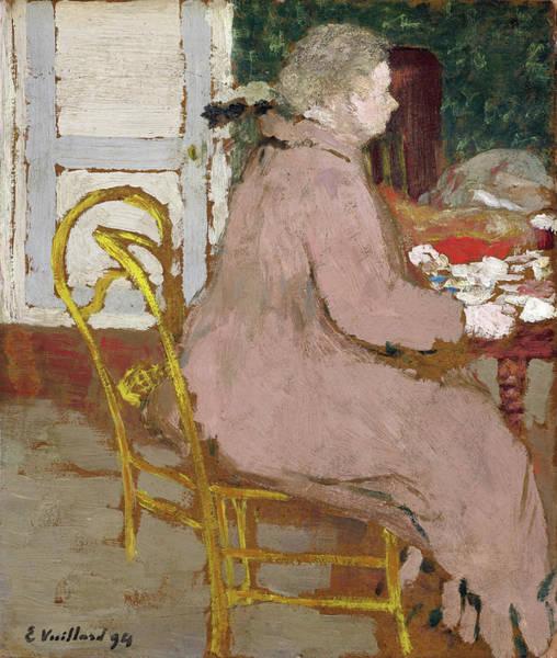 Wall Art - Painting - Breakfast - Digital Remastered Edition by Edouard Vuillard