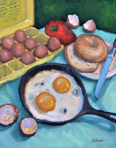 Painting - Breakfast by Jeff Dickson