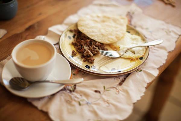 Ground Photograph - Breakfast by Laura Natividad