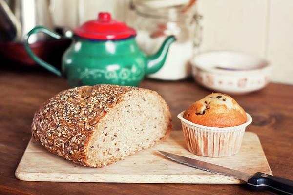 Teapot Photograph - Breakfast by Maria Jose Valle Fotografia