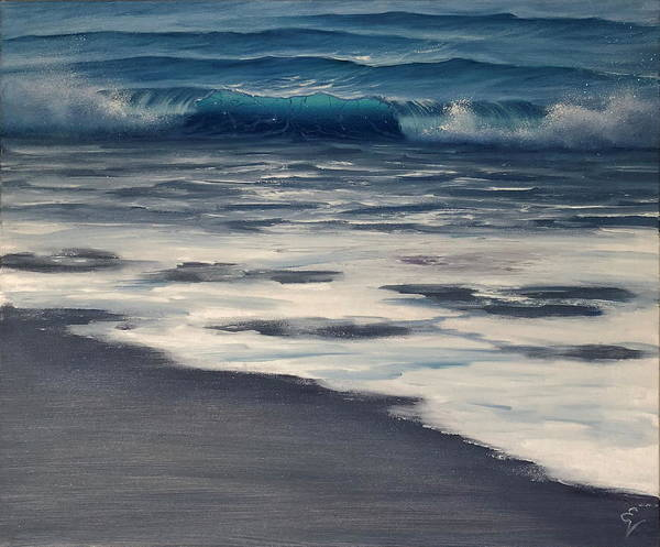 Painting - Breaking Through by Eva Volf