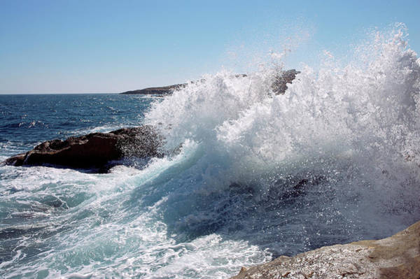 Fuel Element Photograph - Breaking Waves by Dutchy