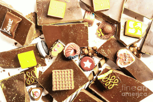 Chocolate Wall Art - Photograph - Breakup Diet by Jorgo Photography - Wall Art Gallery