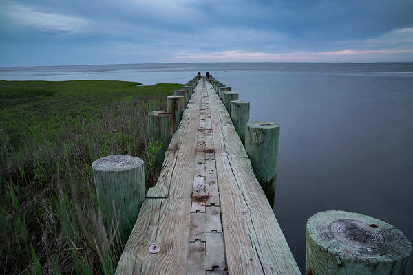 Photograph - Breakwater At Harvey Beach In Old Saybrook by Kyle Lee