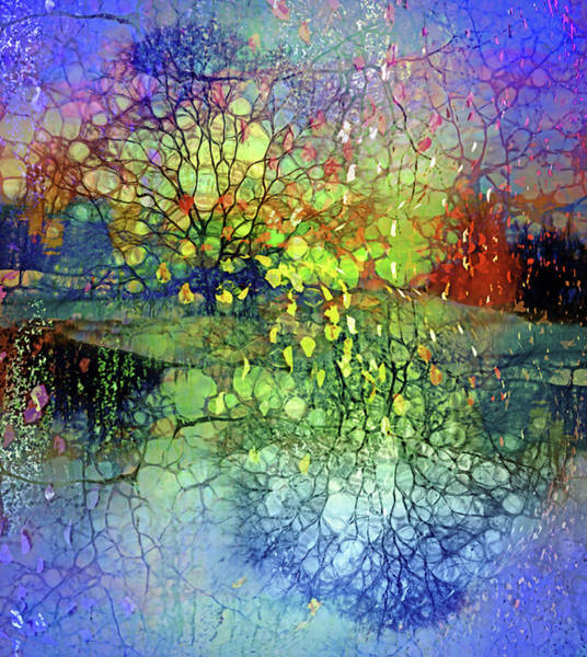 Wall Art - Digital Art - Breath Like Falling Leaves by Tara Turner