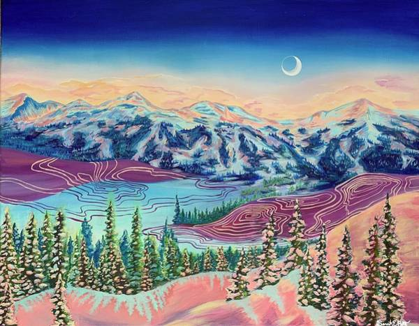 Painting - Breck Beauty by Sarah E Bott