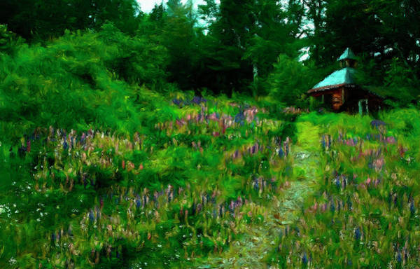 Photograph - Breeze On The Lupine Field by Wayne King