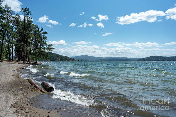 Photograph - Breezy Day On Lake Coeur D'alene by Matthew Nelson
