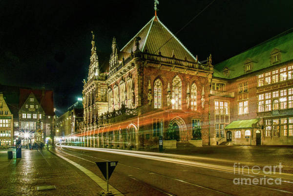 Period Photograph - Bremen At Night by Paul Quinn