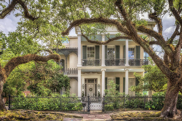 Photograph - Brevard - Rice House by Susan Rissi Tregoning