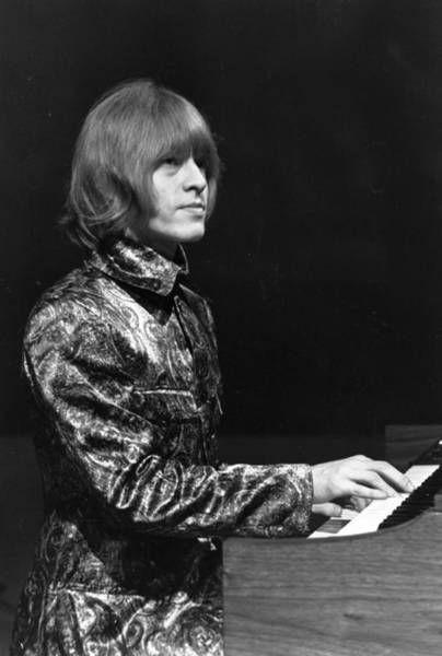 Hairstyle Photograph - Brian Jones by Larry Ellis