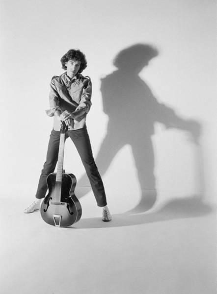 Photograph - Brian Robertson by Fin Costello