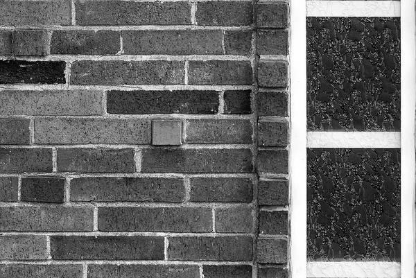 Brick And Glass - 2 Art Print
