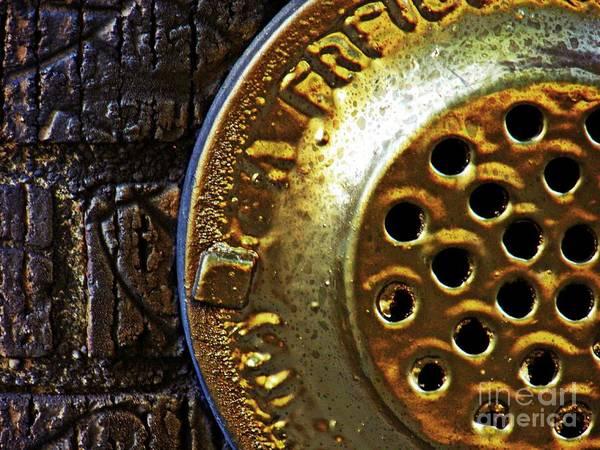 Wall Art - Photograph - Brick And Gold 2     by Sarah Loft