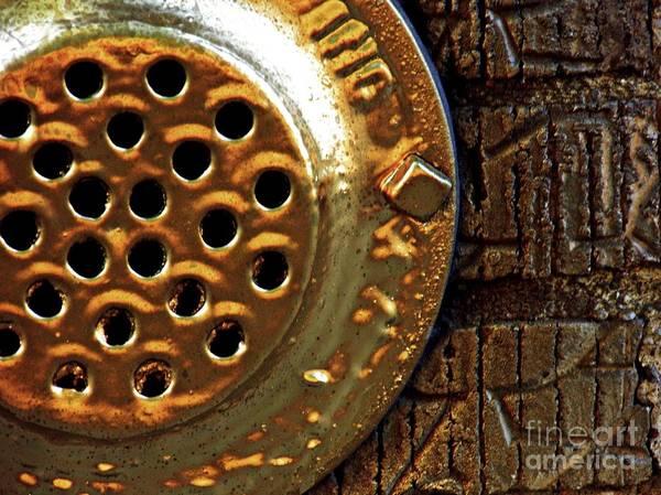 Wall Art - Photograph - Brick And Gold 3 by Sarah Loft