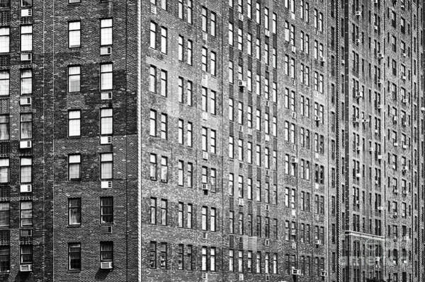 Wall Art - Photograph - Brick Building In New York by Delphimages Photo Creations