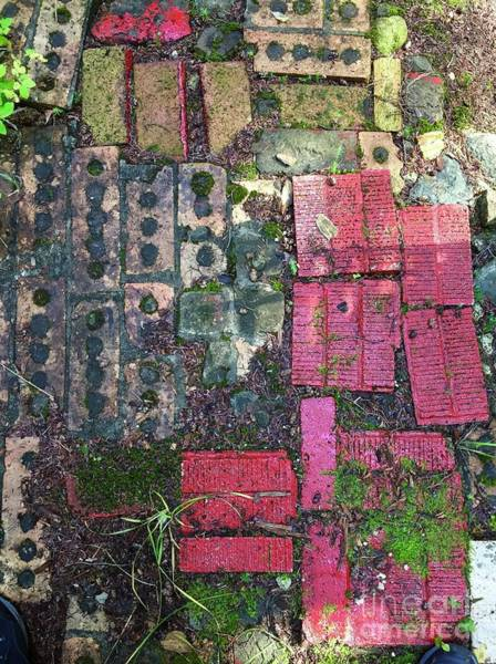 Photograph - Brick Composition 3 by Bill Thomson